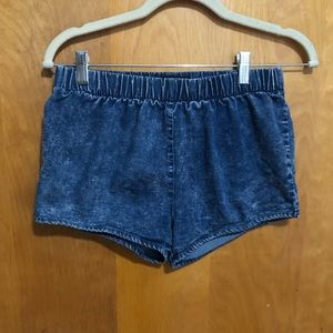 Blue jean shorts Size small